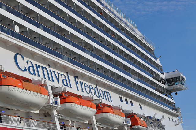 Carnivals Third Ship Freedom Set To Sail From Galveston - Cheap cruises from galveston 2015
