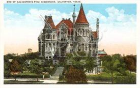 Vintage Bishop's Palace Magnet