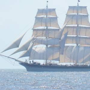 Galveston Historic Seaport-1877 Tall Ship Elissa