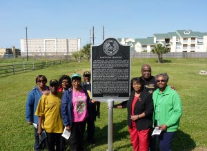 Marker Dedication with GHF's African American Heritage Committee