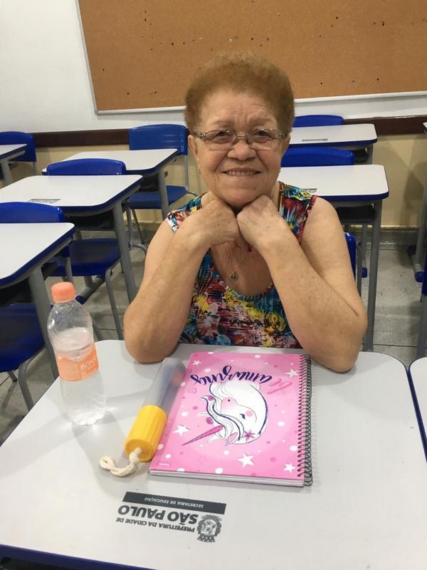 Nunca é tarde: aos 72 anos, Severina realiza o sonho de estudar