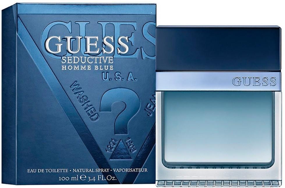عطور رجالية فخمة عطر جيس سيداكتيف بلو Guess Seductive Homme Blue