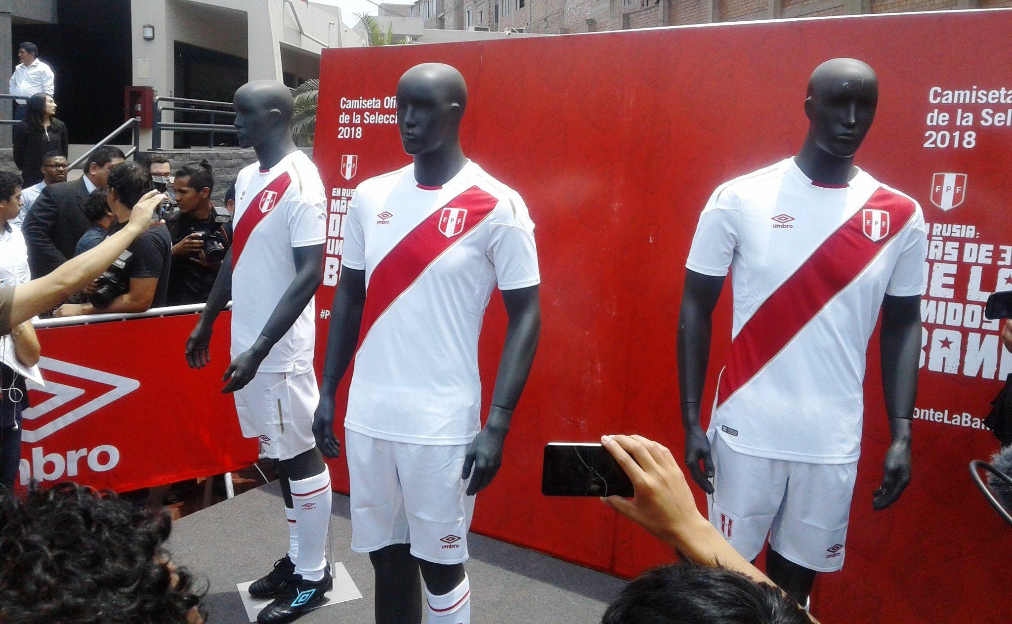 Esta es la nueva camiseta de la Selección Peruana de Futbol hecha por UMBRO