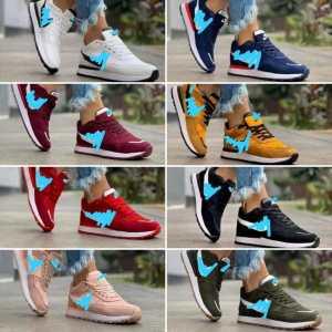 Zapatillas de gamuza para damas