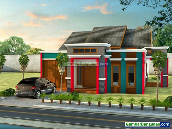 Rumah Minimalis 1 Lantai Hadap Depan Dan Samping