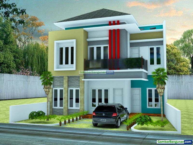 Desain Rumah Minimalis Modern 2 Lantai Di Jakarta