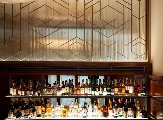 Il banco del bar al Paszkowski