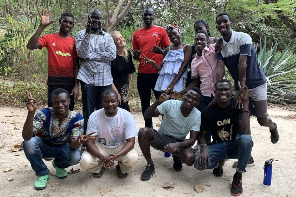 Gambia Cotton Trail Artists
