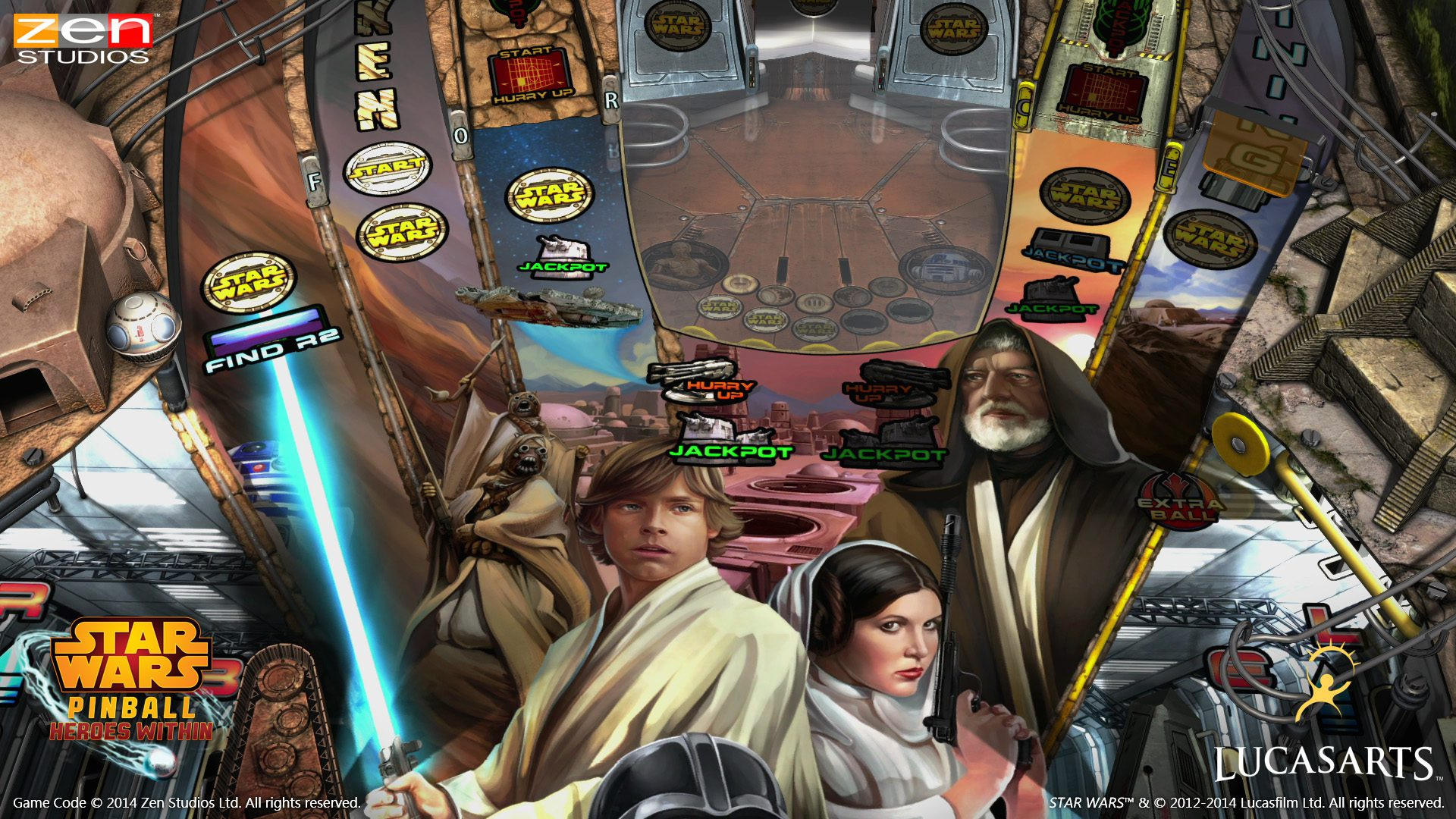 Star Wars Pinball Episode Iv A New Hope Table Trailer Gambit Magazine