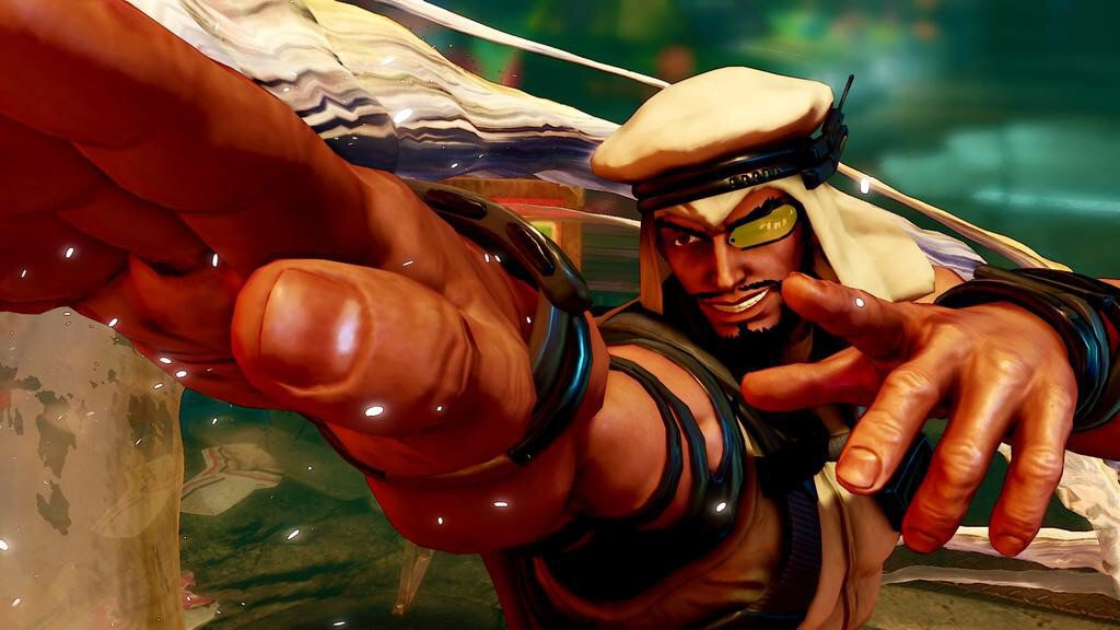 Rashid is the second new character to join Street Fighter 5