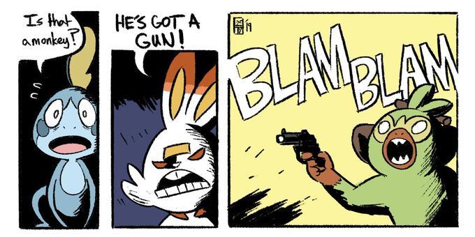 Mexican Newspaper Accidentally Reports On Pokemon Gun Gambit Magazine