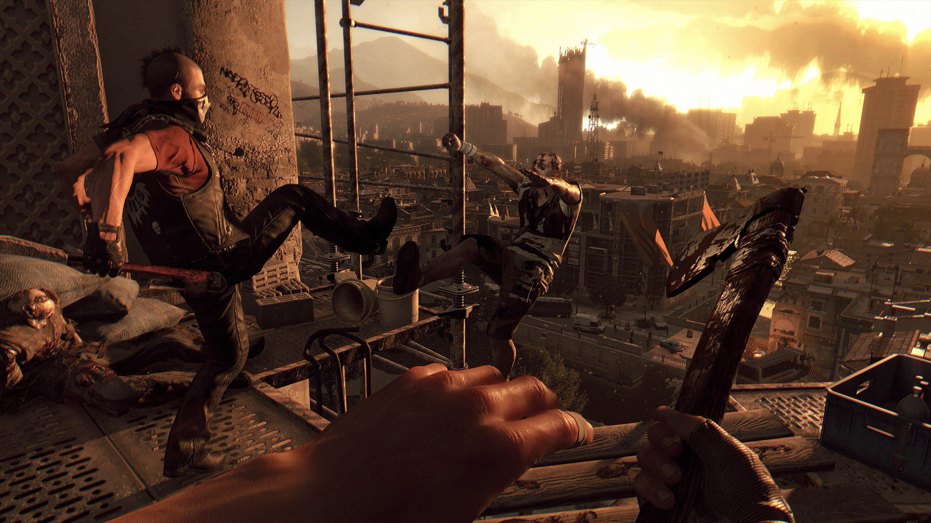Dying Light The Following Enhanced Edition Wallpaper 3 Gambit