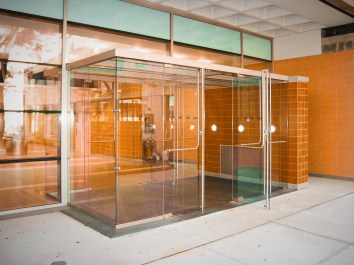 Frameless Glass Door System - Project 1