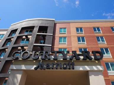 Curtain Wall - Courtyard by Marriott Fresh Meadows