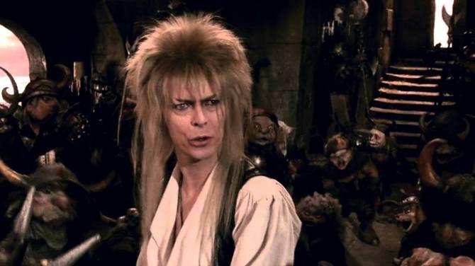 Die Reise ins Labyrinth - David Bowie mit seinen Kobolden