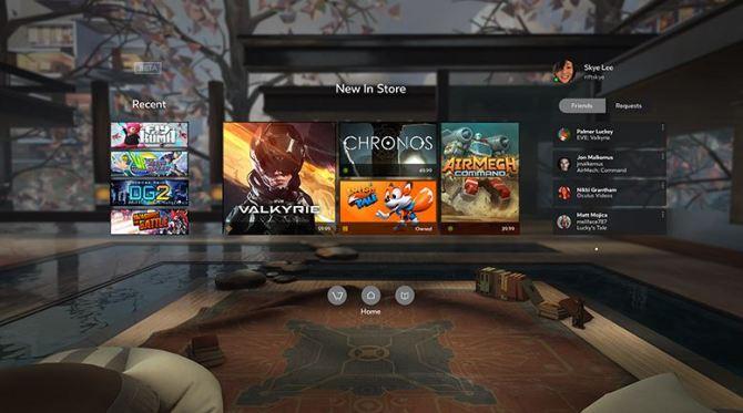 Oculus Rift - Oculus Home
