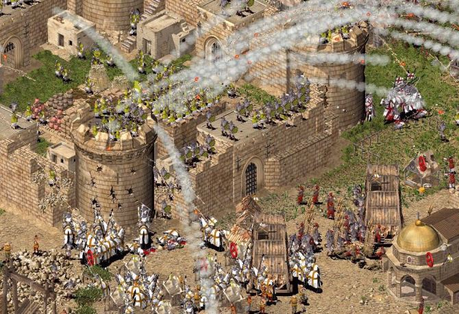 Top 10 LAN Games - Stronghold Crusader
