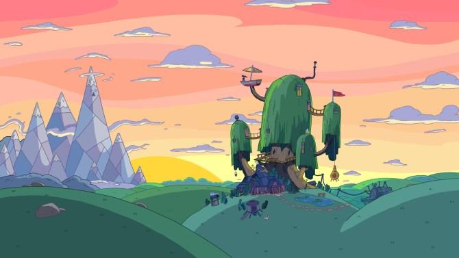 Adventure-Time-Das-Baumhaus-von-Jake-und-Finn
