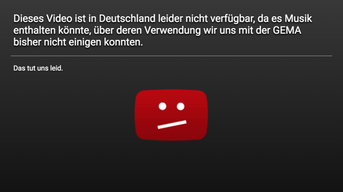 YouTube-Sperrtafel-GEMA
