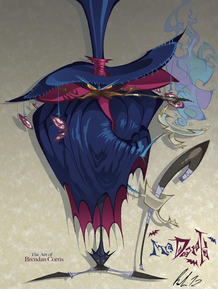 Mr Dark From Rayman