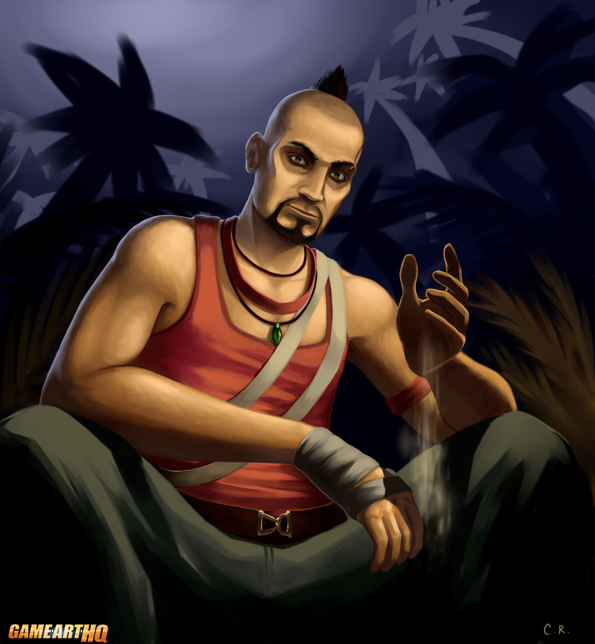 Vaas Montenegro The Crazy Villain From Far Cry 3