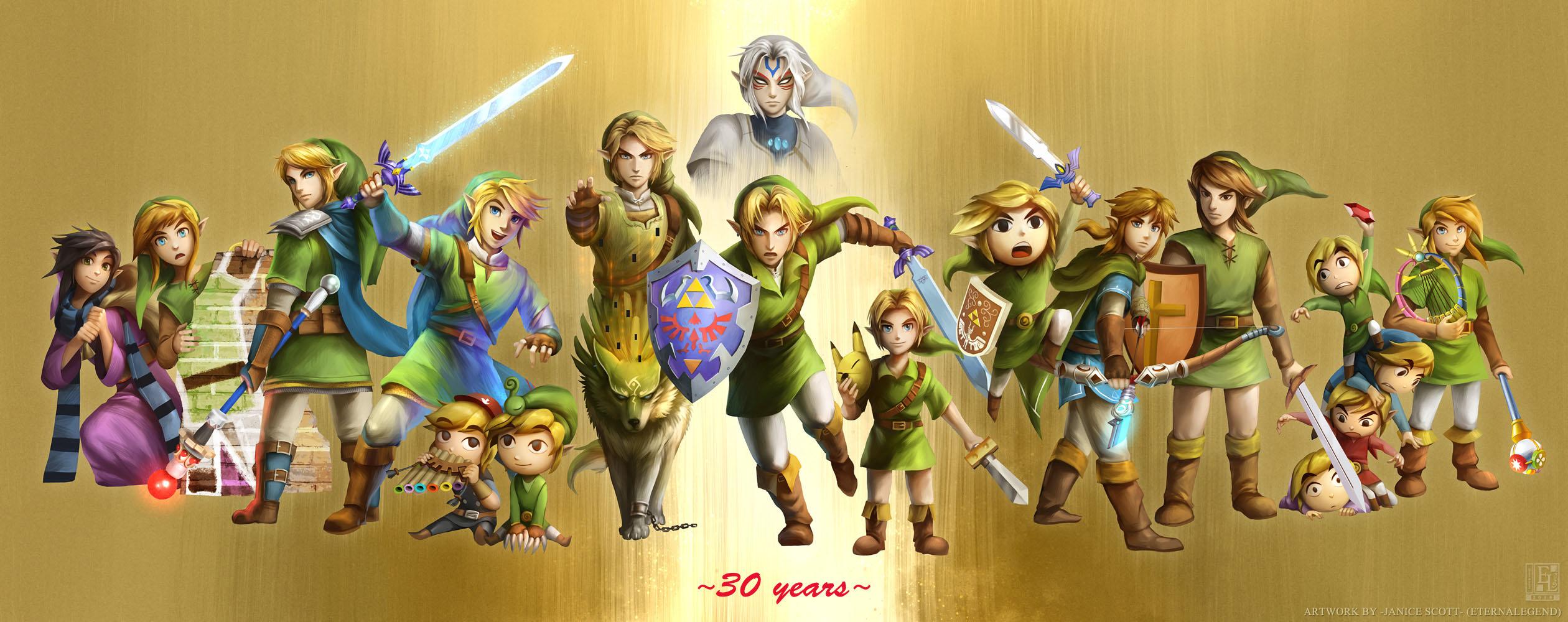 30th Anniversary Of The Legend Of Zelda: EL Celebrates It