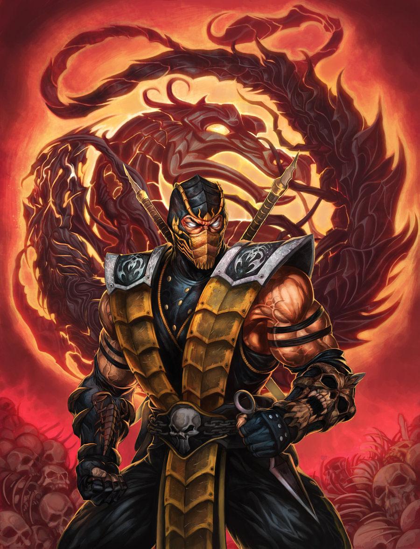 MK Art Tribute: Scorpion (Alt.Costume) from MK 9