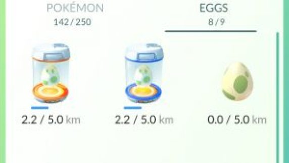 pokemongo eggs