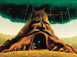 Zelda Deku Tree
