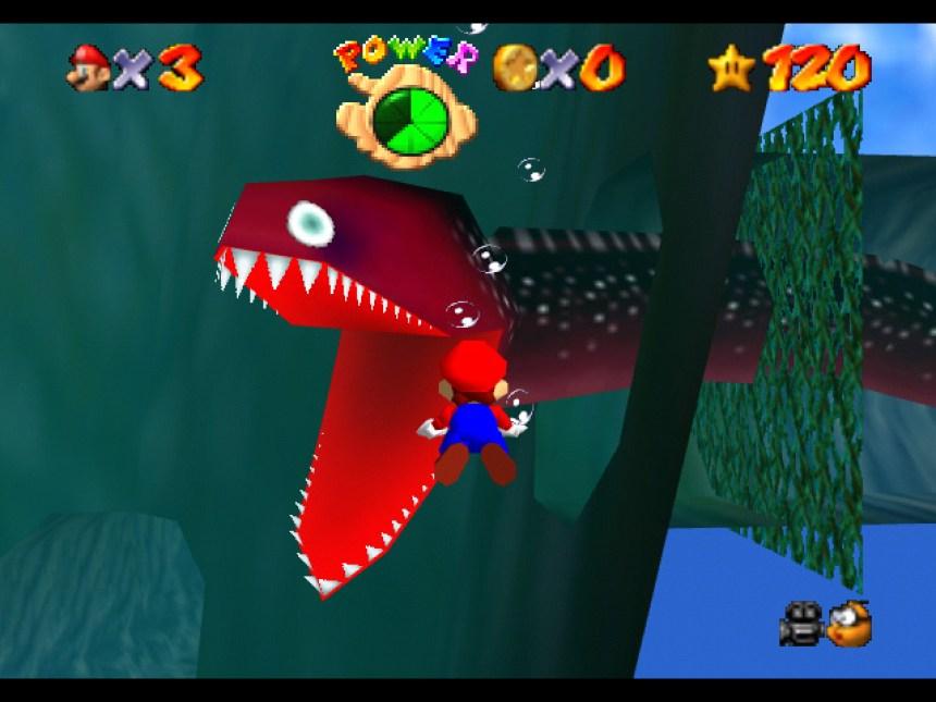 underwatermario