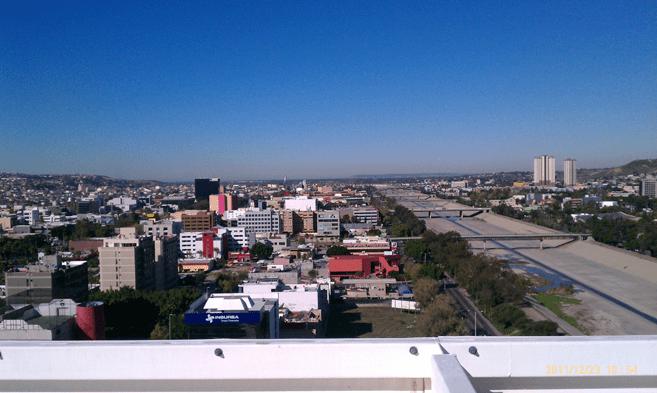 terraza en via corporativo