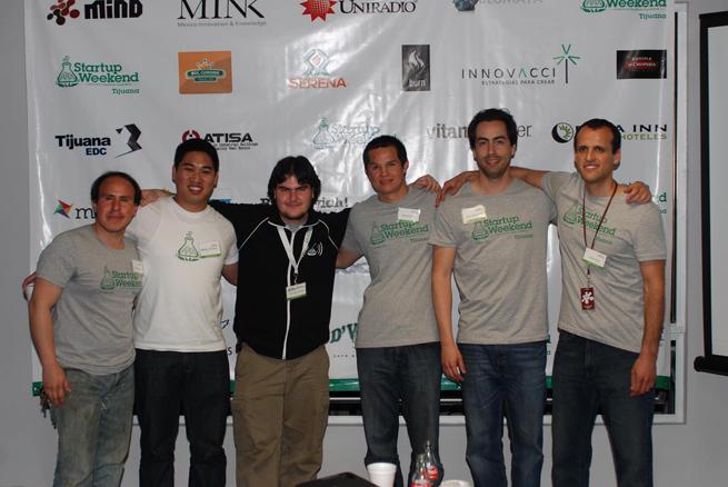 startup weekend tijuana team
