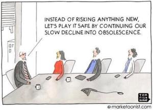 for innovation safe is risky