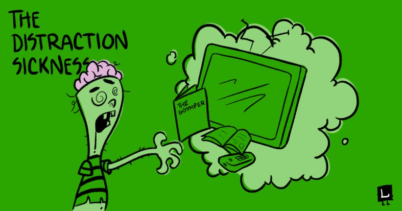 distraction sickness