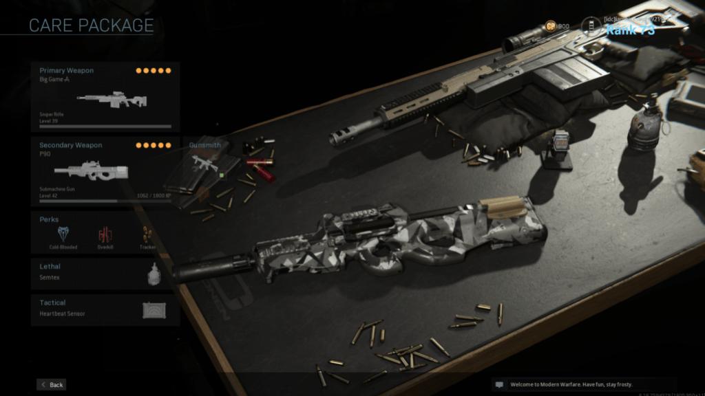 best custom class for warzone