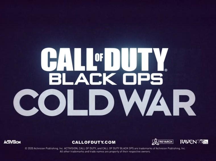 Call of Duty Black Ops Cold War teaser trailer