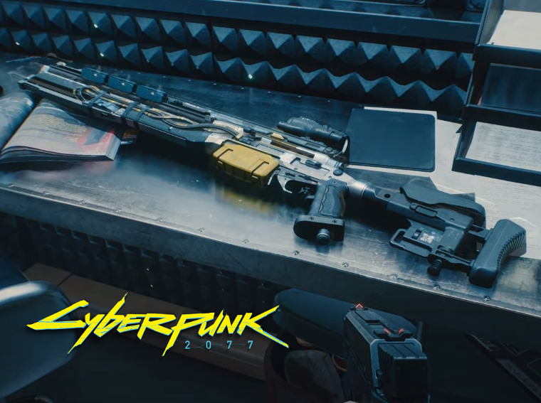 cyberpunk 2077 weapons