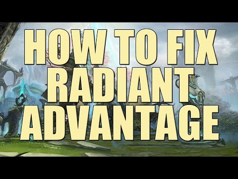 How to Fix the Radiant Advantage in Dota 2