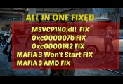 mafia 3 error fix solved