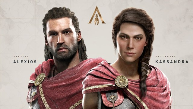 assassin's creed odyssey - personnage