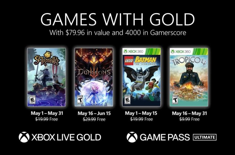 games with gold juegos gratis xbox series x xbox one mayo 2021