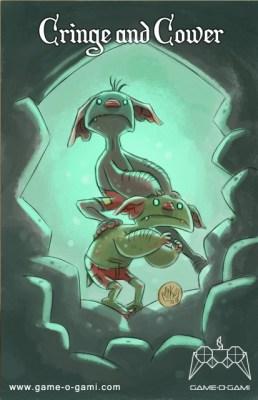 """Goblins Drool, Fairies Rule!"" goblin - Cringe and Cower"