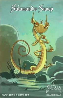 """""""Goblins Drool, Fairies Rule!"""" goblin - Salamander Snoop"""