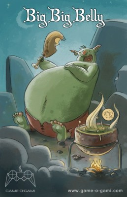 """Goblins Drool, Fairies Rule!"" goblin - Big Big Belly"