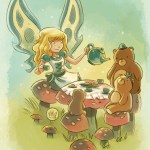 """""""Goblins Drool, Fairies Rule!"""" fairy - Goldie Lock"""