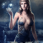 Immortal - game of mythic strategy - Aphrodite card illustration
