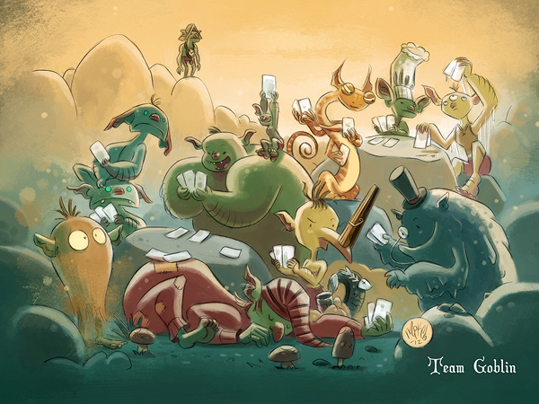 GDFR! - Team Goblin wallpaper