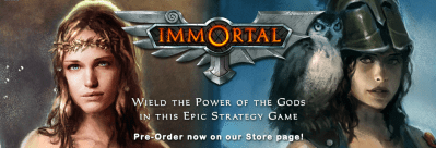 Immortal - a strategy game of warring mythologies - from Game-O-Gami