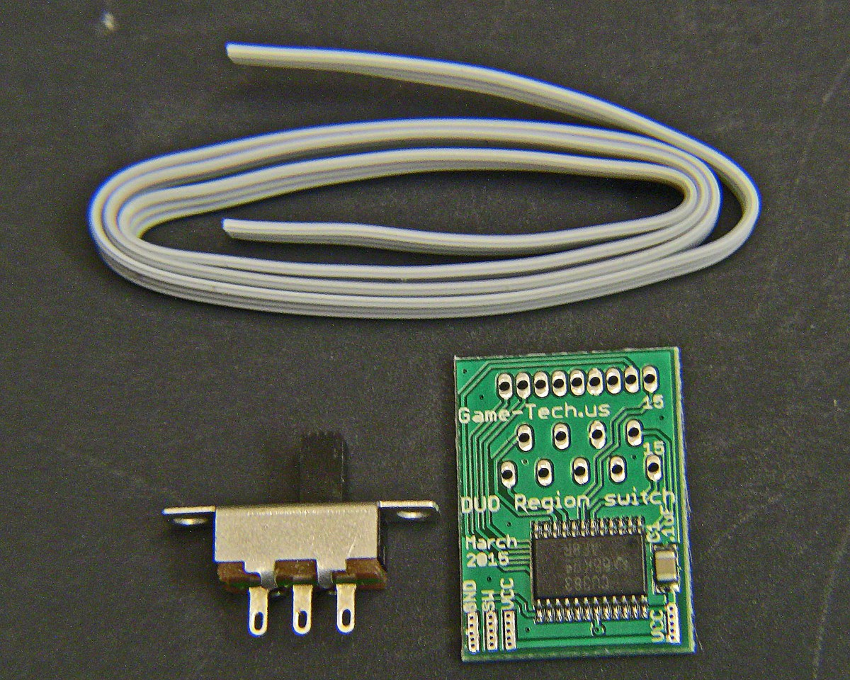 Turbo Duo PC Engine region switch – fits all NEC consoles ...