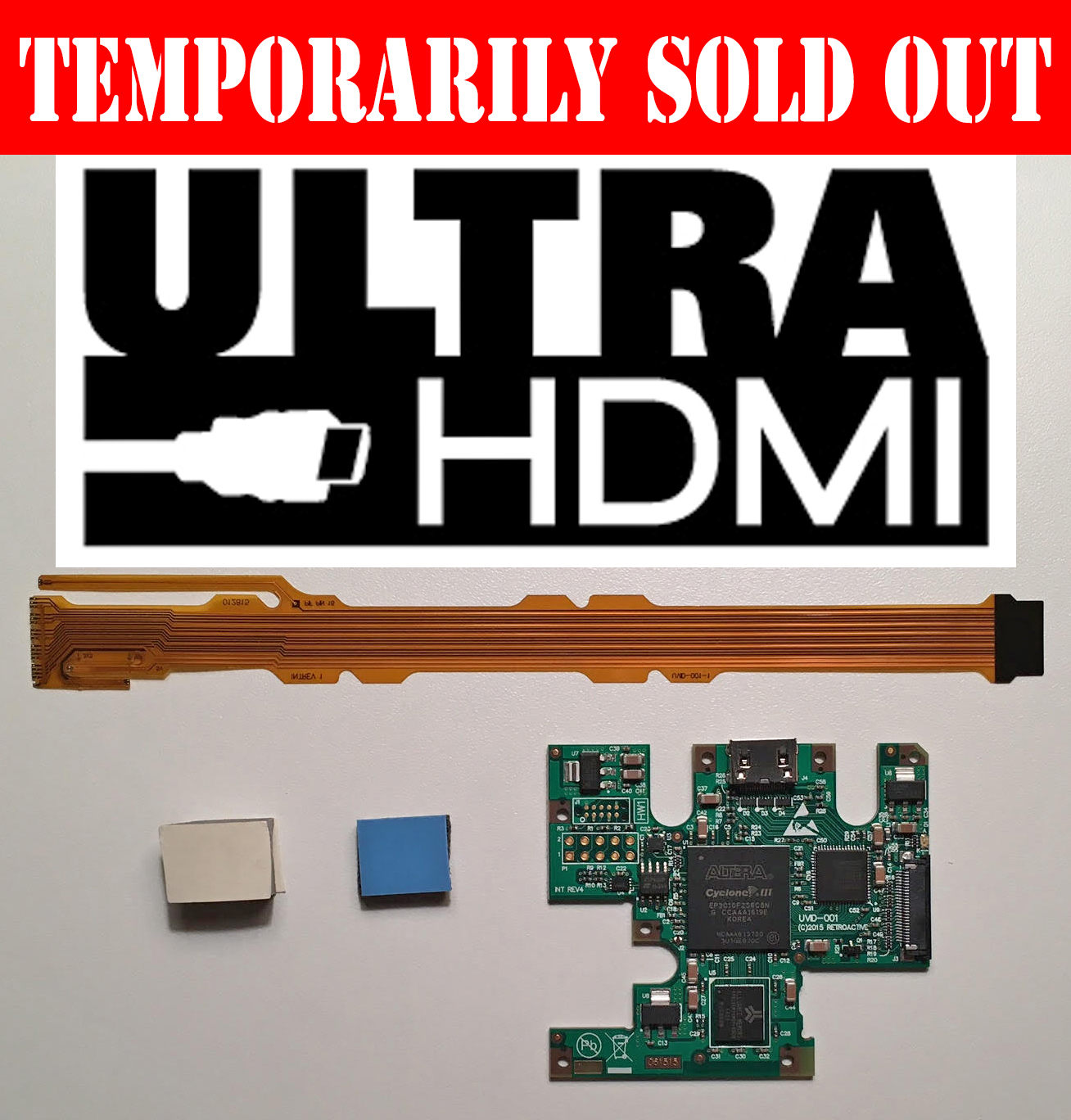 UltraHDMI upgrade kit - 1080p for your N64!